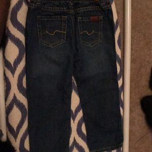 Toddler 7 for all mankind jeans
